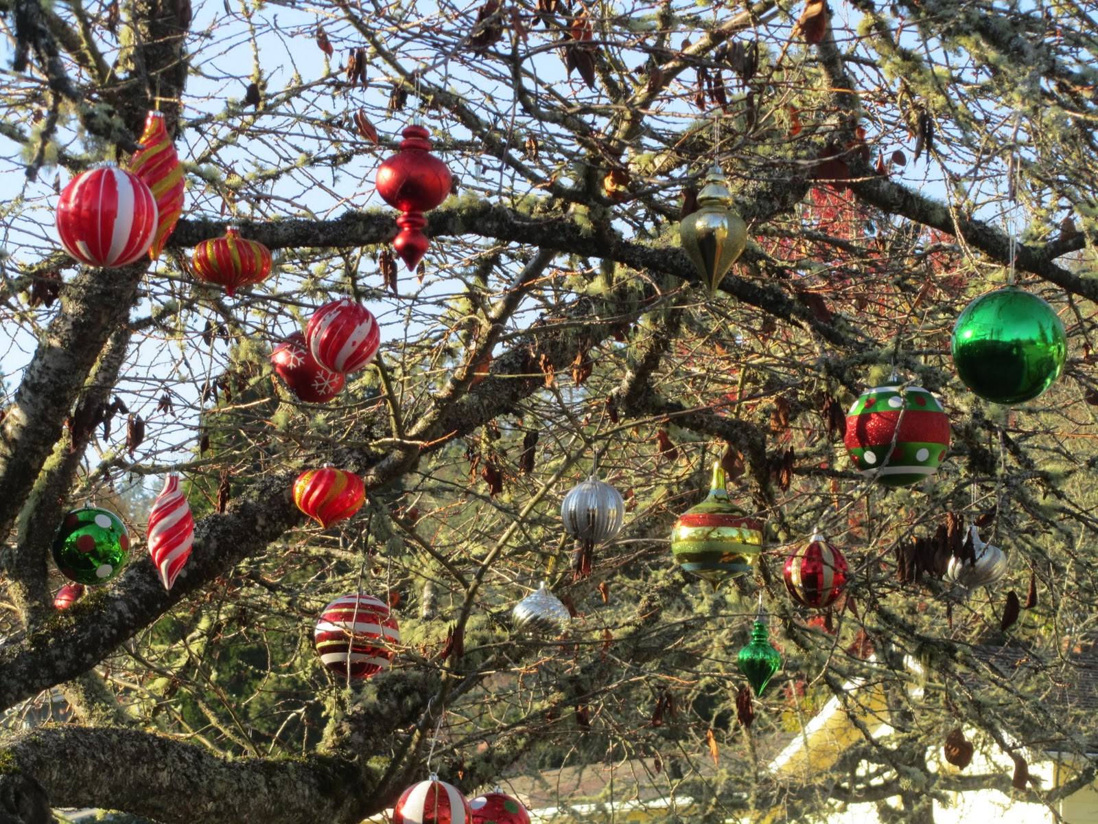 outside tree decorations my value outdoor christmas - Outdoor Christmas Tree Decorations
