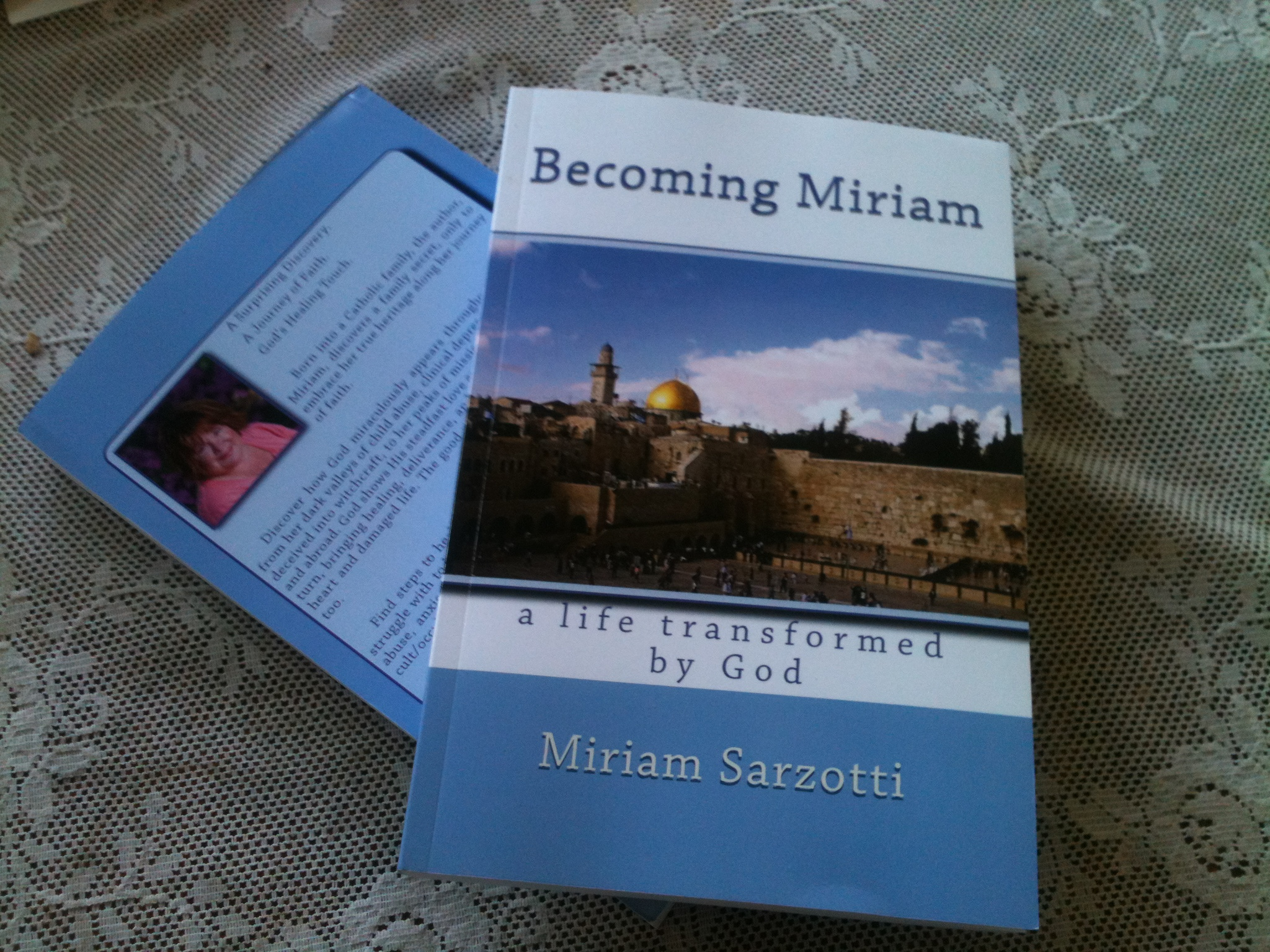 I Am Happy To Announce That My First Book, Becoming Miriam: A Life  Transformed By God Is Now For Sale On Amazon! It Was A Five Year Labor  Of Love